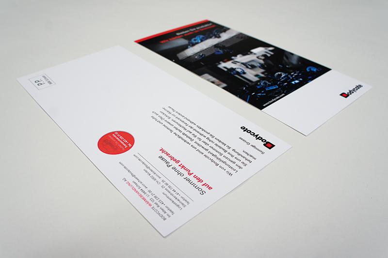 Design Postkarte Bodycote