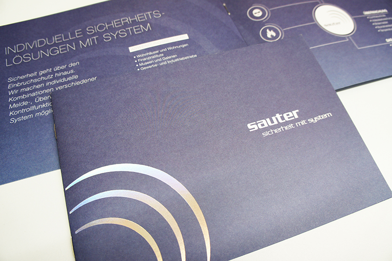 Broschüre Sauter