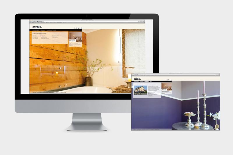 Konzept und Grafik Website