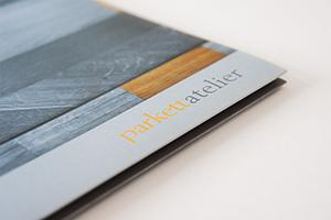 Imagebroschüre für das Parkettatelier