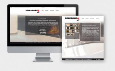 Eine neue Website für die Kaufmann AG