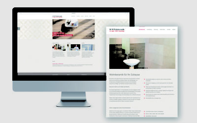 Die neue Website von H+M Wohnkeramik ist online