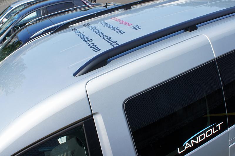 Fritz Landolt VW Caddy Beschriftung