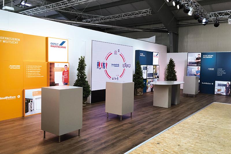 Ospelt Haustechnik Messeauftritt LIHGA 2016