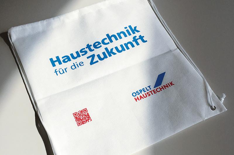Ospelt Haustechnik Swag-Bag