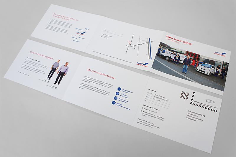 Ospelt Haustechnik Mailing Sevelen