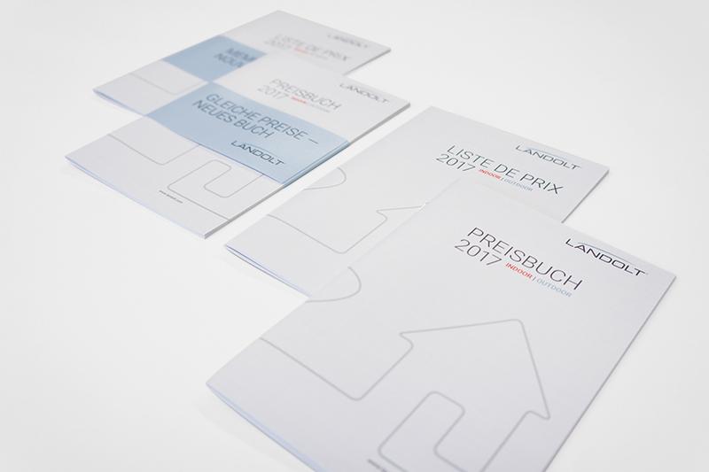 Grafikdesign Preisbuch Titelseite und Banderole