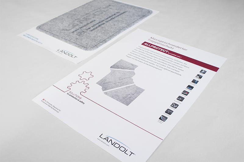 Konzept und Design Flyer