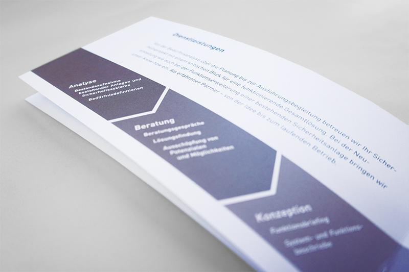 Broschüre Grafikdesign und Konzept von GERRYFRICK