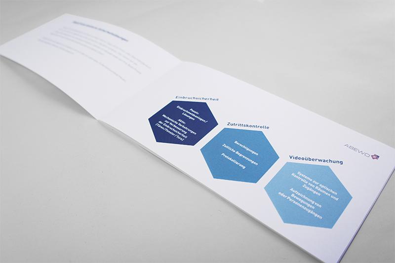 Grafikdesign Broschüre Abewo