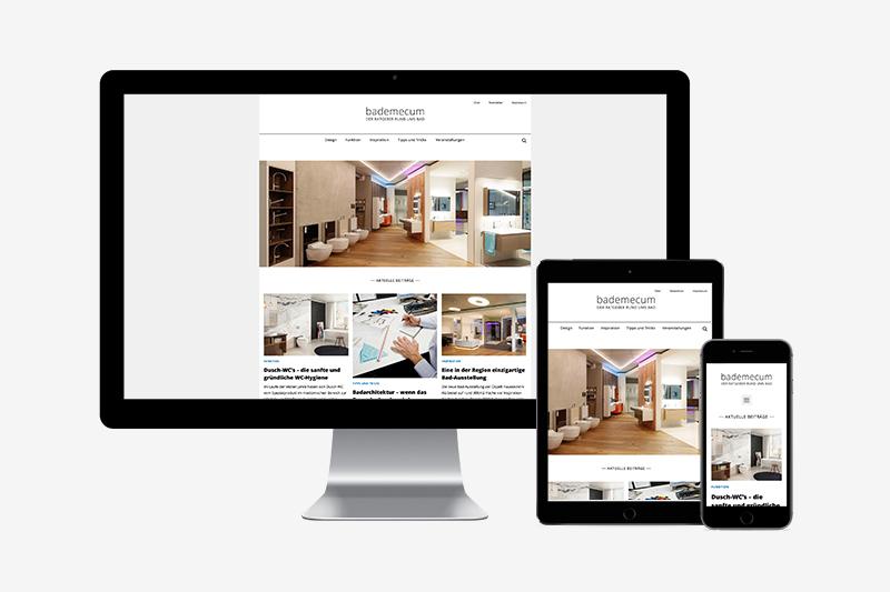 Blog Bademecum Ospelt Haustechnik Content Konzept und Design von GERRYFRICK Marketingagentur in Balzers