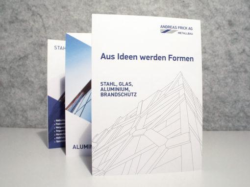 Imagebroschüre für die Andreas Frick AG