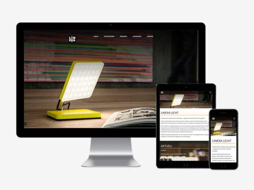 Eine neue Website für  Linexa