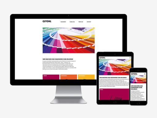 Neue Website für die Gstöhl AG