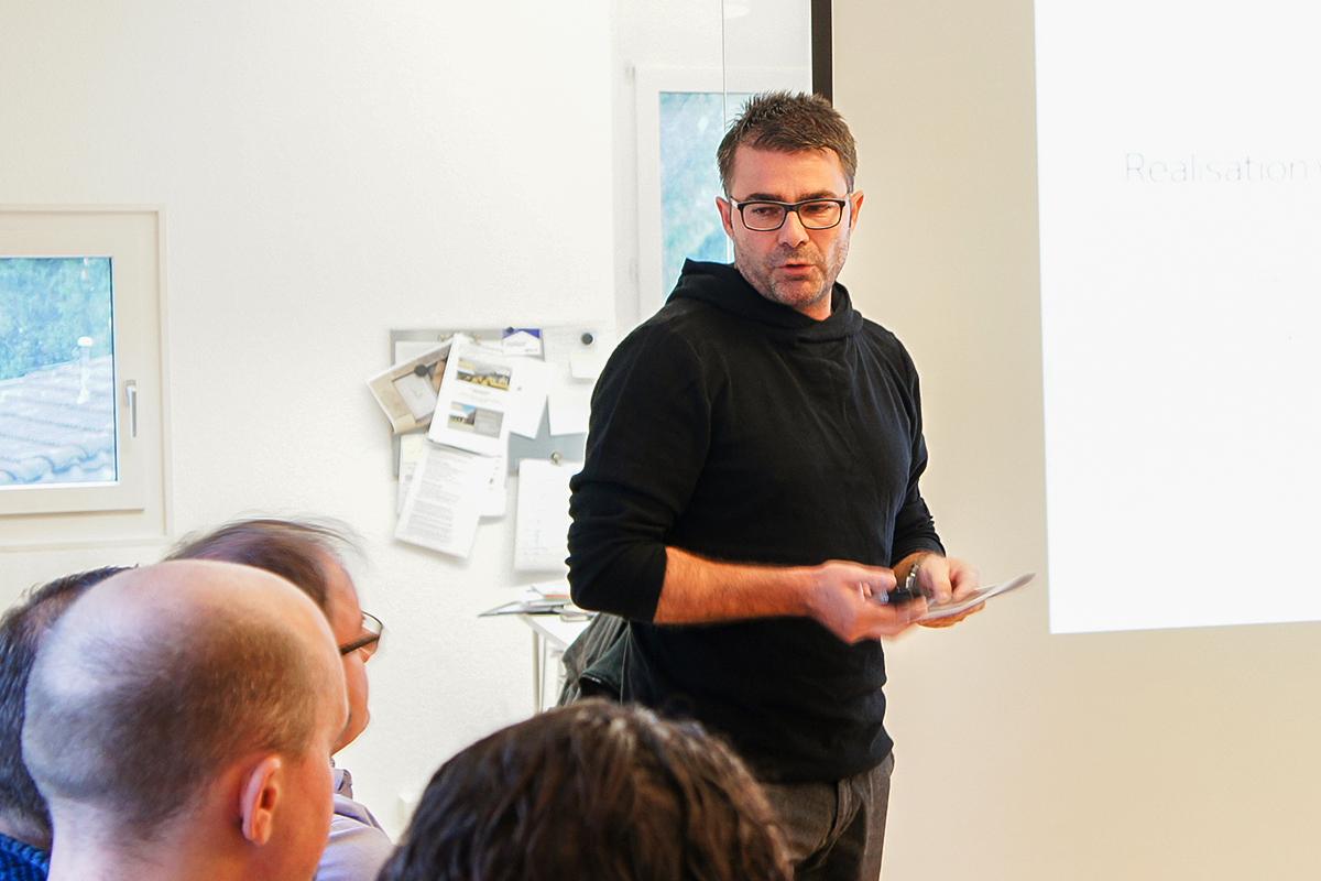Videoprojekte realisieren. Daniel Schierscher von der Filmfabrik präsentiert.