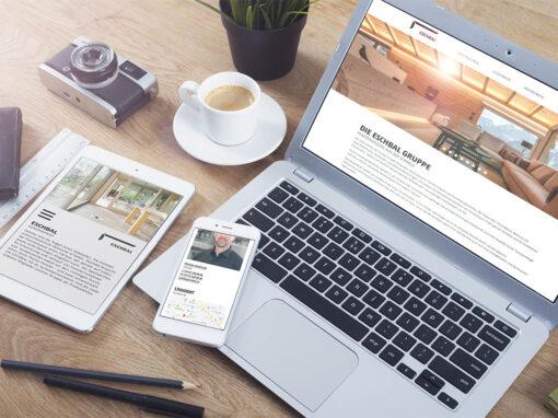 Neue Website für Fenstersysteme