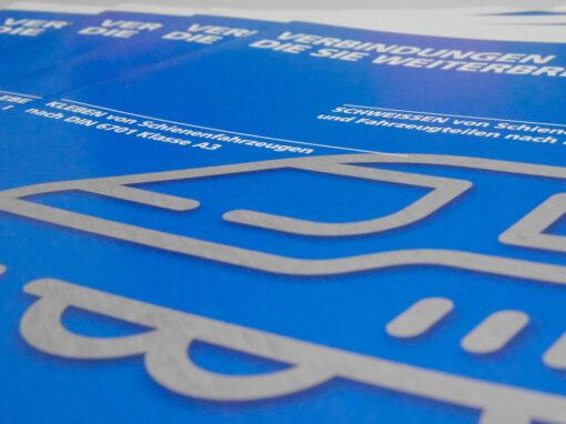 Broschüre für Schienenfahrzeuge