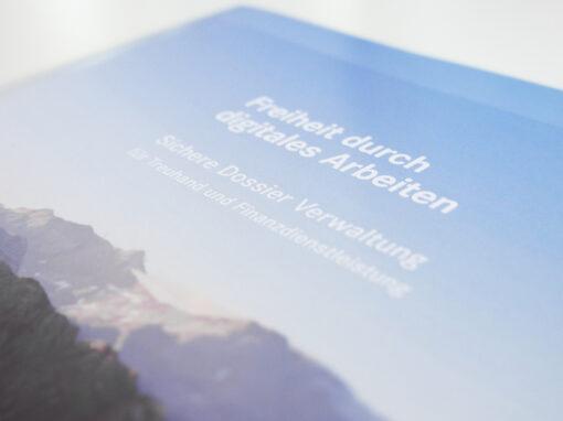 Broschüre für Softwarelösung