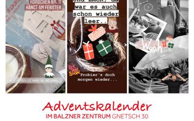 1. Adventskalender im Balzner Zentrum