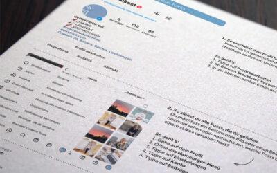 Instagram für Unternehmen ist das Thema im Knowhow-Letter vom Dezember