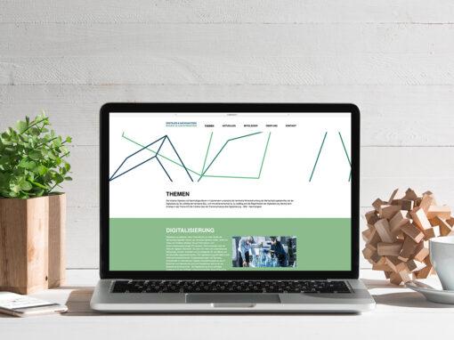 Corporate Design und Webdesign für neuen Verband